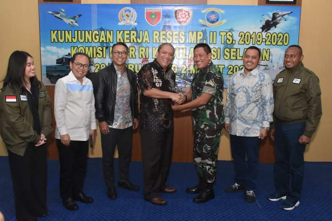 Pangkoopsau II Menerima Kunjungan Komisi I DPR RI