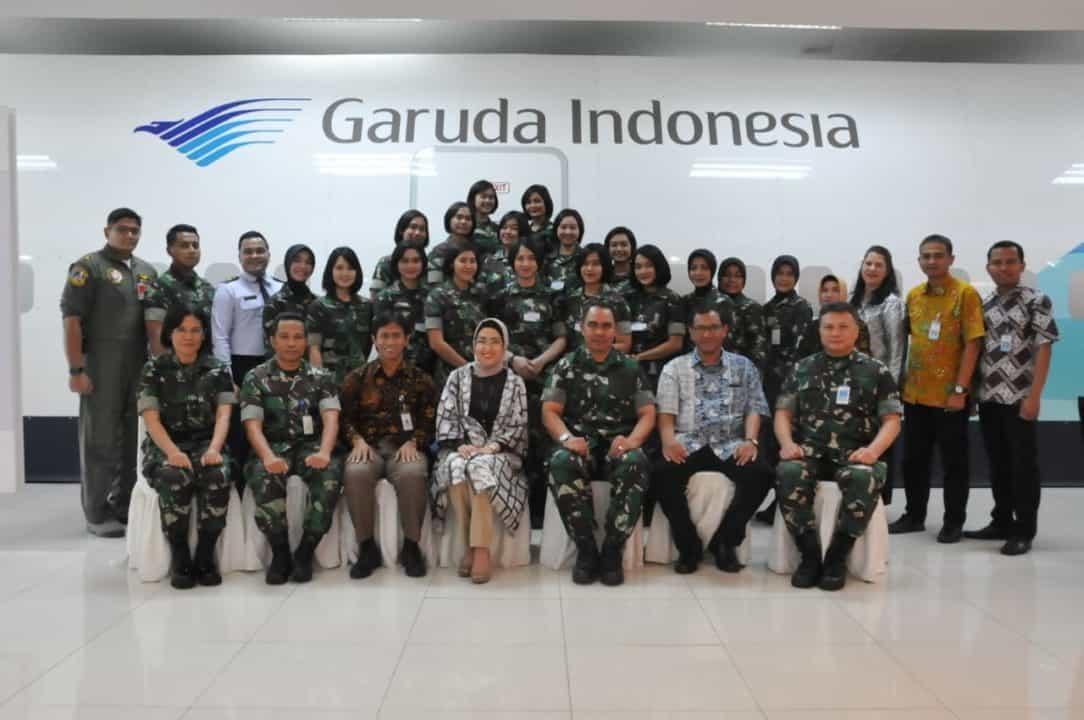 12 Calon Pramugari VIP/VIIP TNI AU Ikuti Pelatihan IFAT
