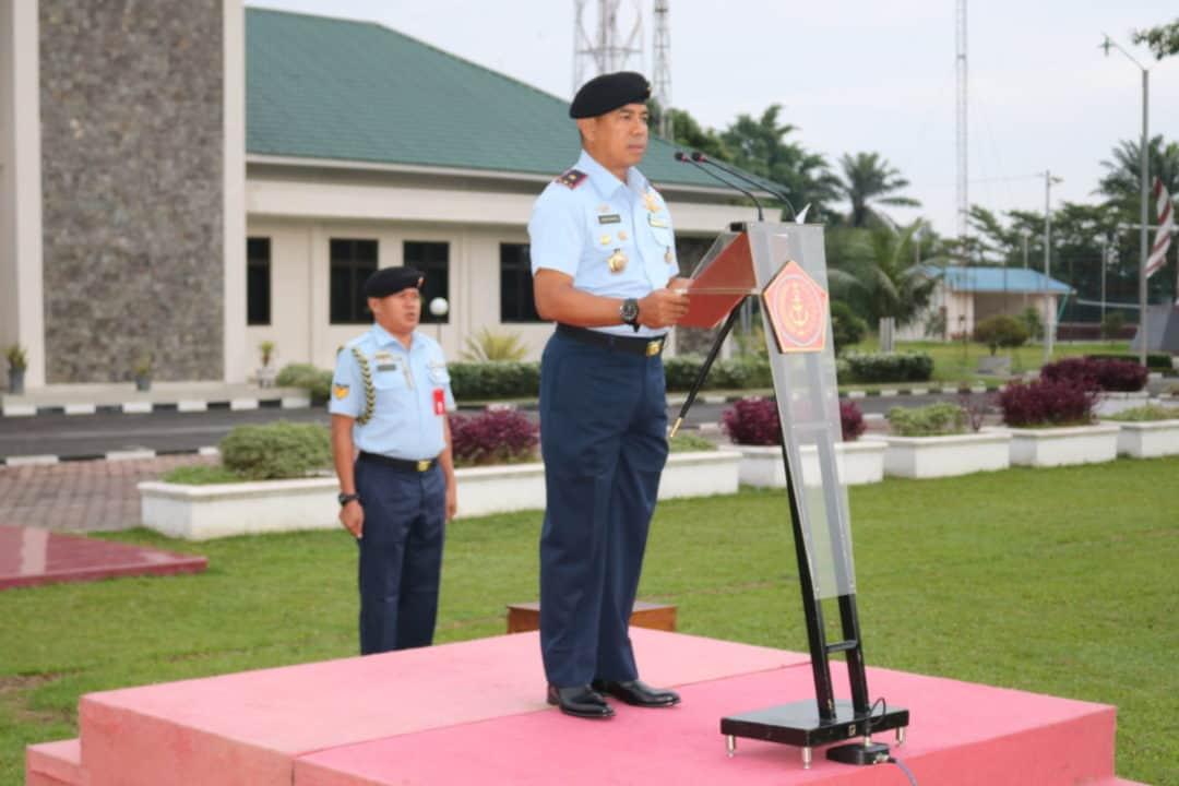 Diawal Tahun 2020 Personel Kosekhanudnas III Harus Meningkatkan Disiplin dan Kinerja