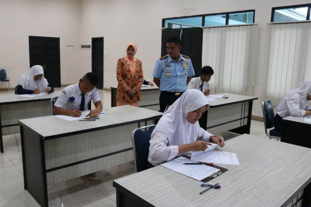 Seleksi PPDB SMA Pradita Dirgantara Tingkat Daerah di Lanud Sjamsudin Noor