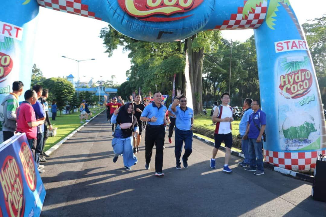 Panglima Kosekhanudnas III Turut Meriahkan Soewondo Air Force Run 2020