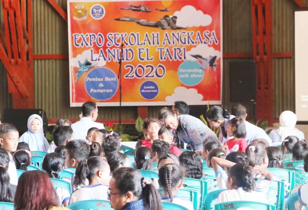 Expo Sekolah Angkasa Lanud El Tari 2020