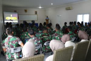 Sosialisasi SISBINLAT TNI AU Di Lanud Dhomber