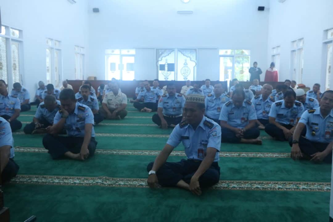 Ibadah Rutin Rabu Wajib dilaksanakan Personel Koharmatau