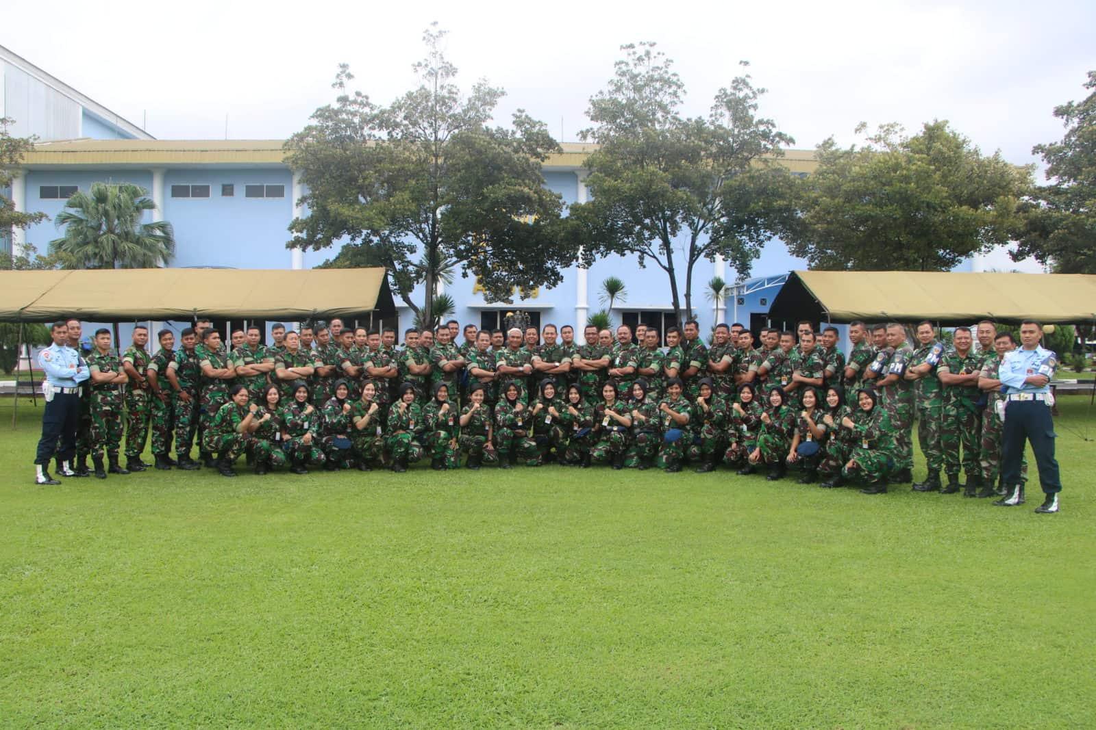 Makodiklatau Gelar Giat Minggu Militer