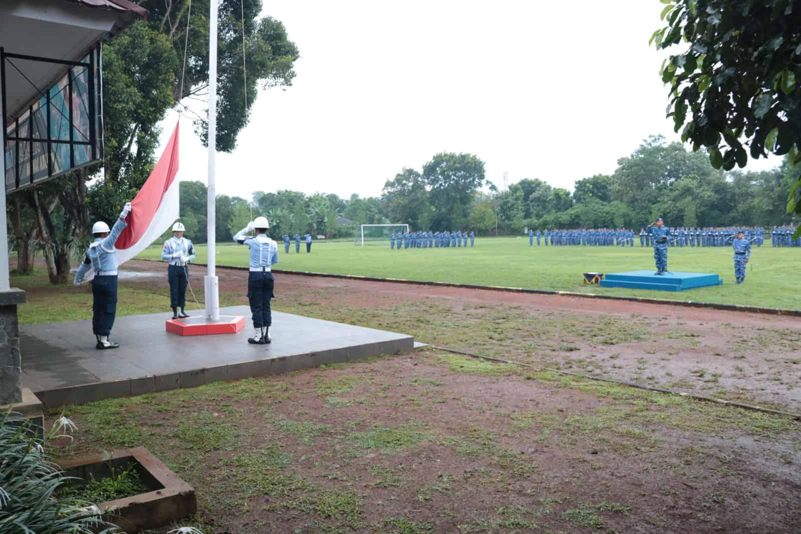 Wingdiktek, Upacara Bendera 17-San Momen Semangat Juang dan Semangat Kebangsaan Guna Mewujudkan Persatuan dan Kesatuan Bangsa