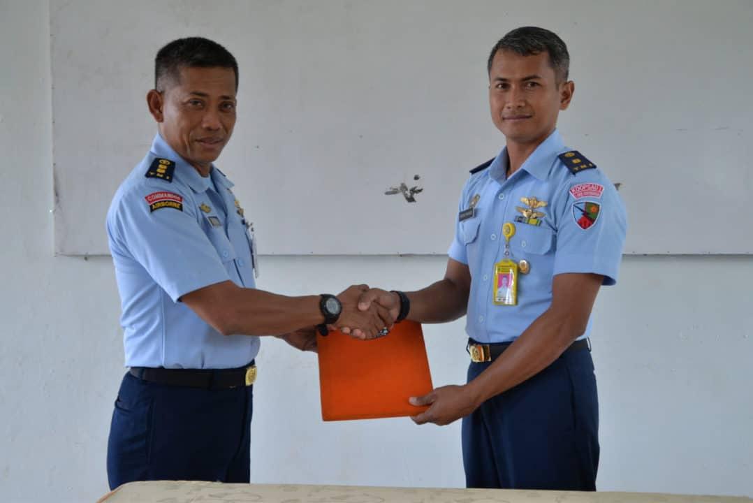 Mayor Tek Hindro Muriadi Jabat Kepala SMK Angkasa 2 Kalijati Lanud Suryadarma