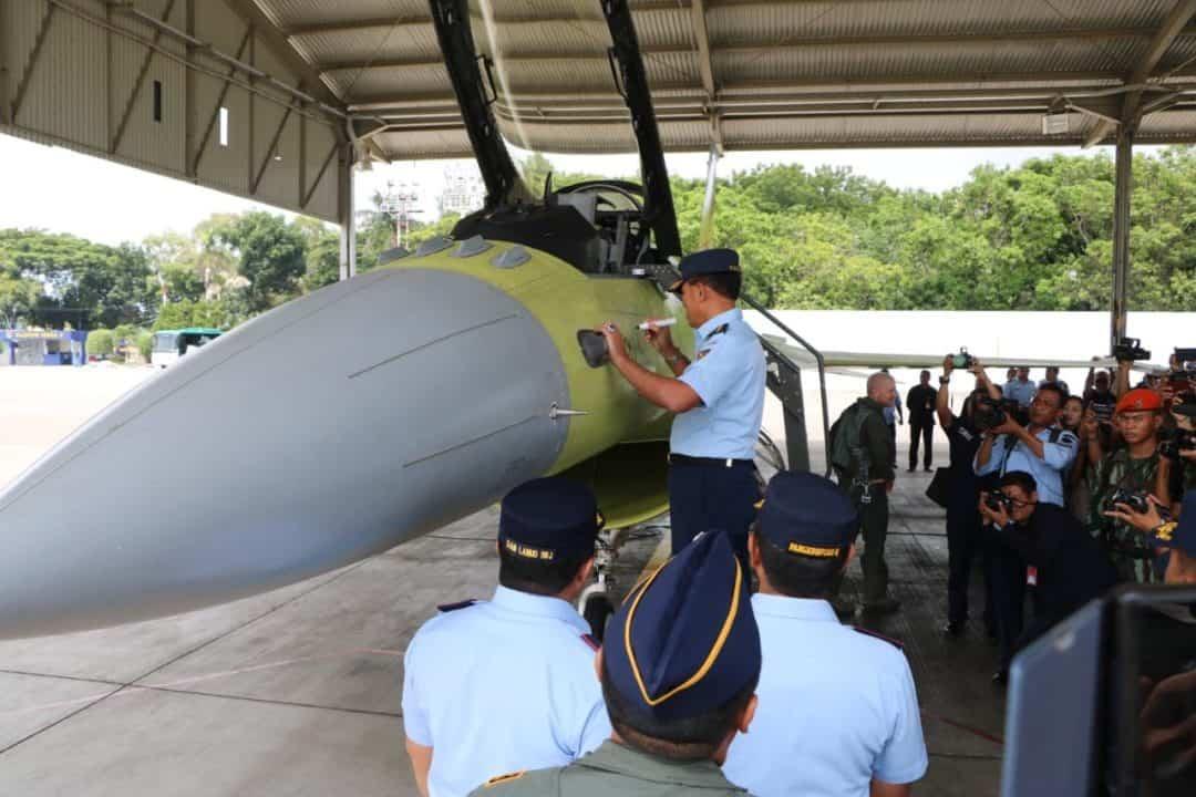 Kasau Apresiasi Program Falcon Star-eMLU Pesawat F-16 A/B Block 15