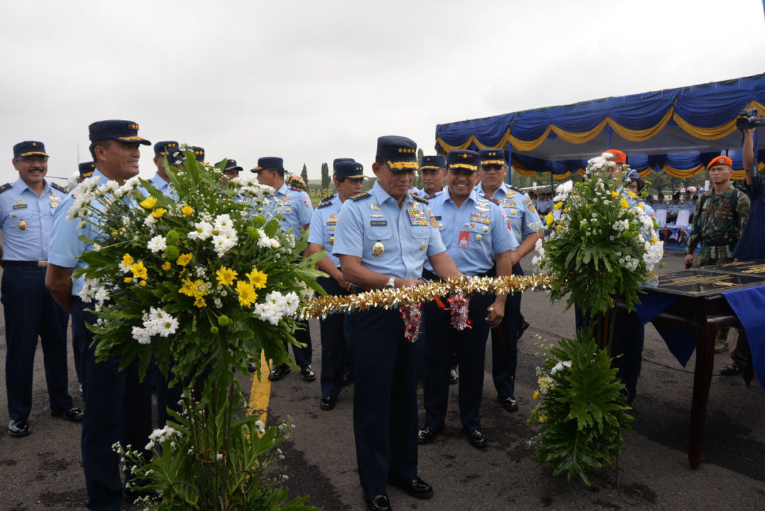 Marsma TNI (Anumerta) Iswahjudi Resmi Diabadikan sebagai Nama Jalan