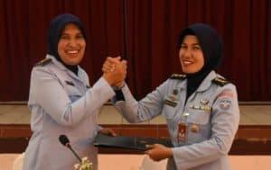 Wara Seskoau Hadiri Pertemuan Wara Bakorda Bandung