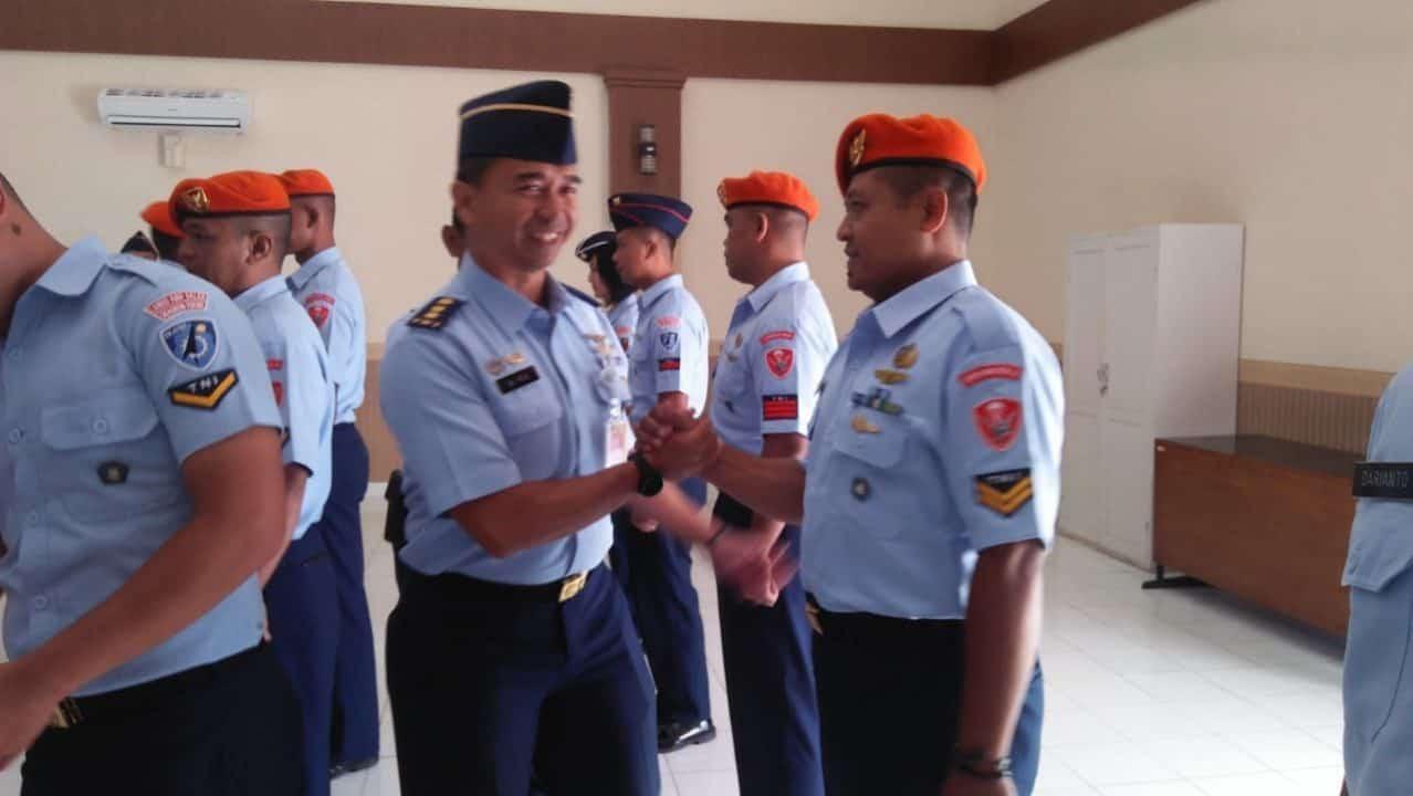 Sesa Lanud Abdulrachman Saleh Buka Pendidikan KNIBI TNI AU A-1