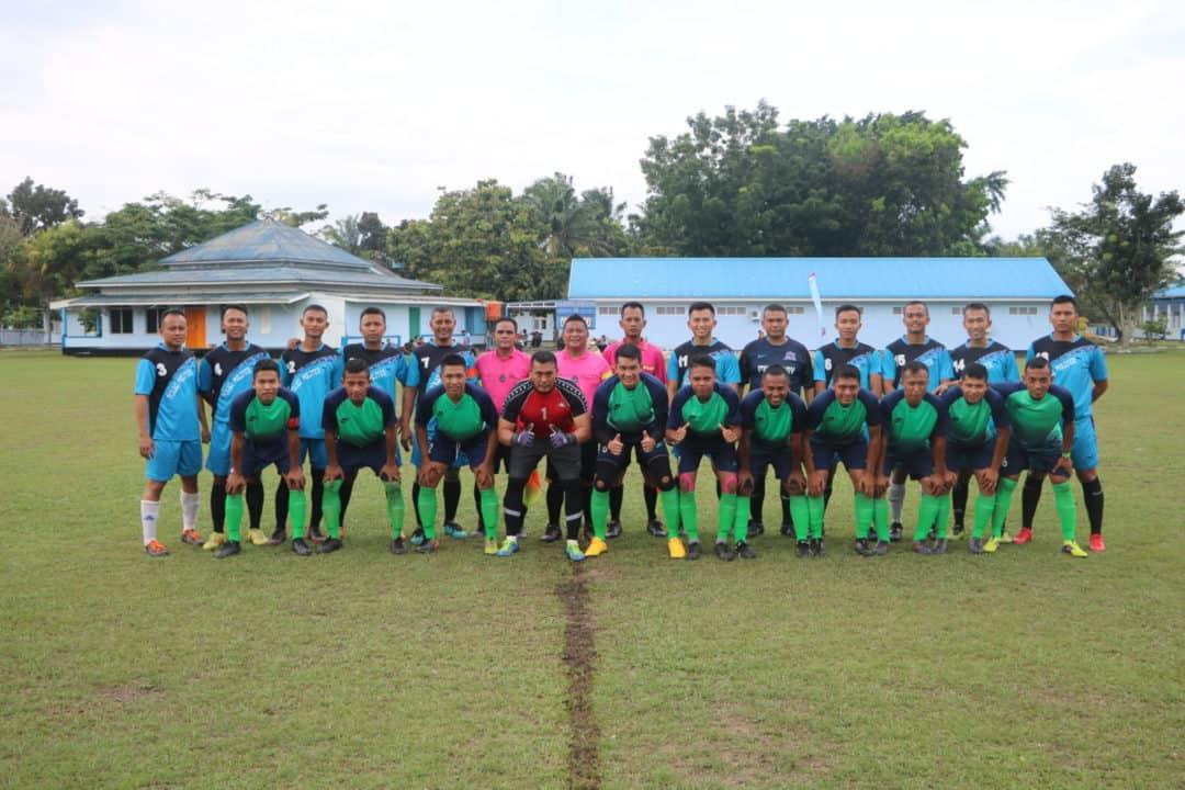 Skatek 045 Juara Pertama Pertandingan Sepak Bola HUT Ke-74 TNI AU di Lanud Rsn