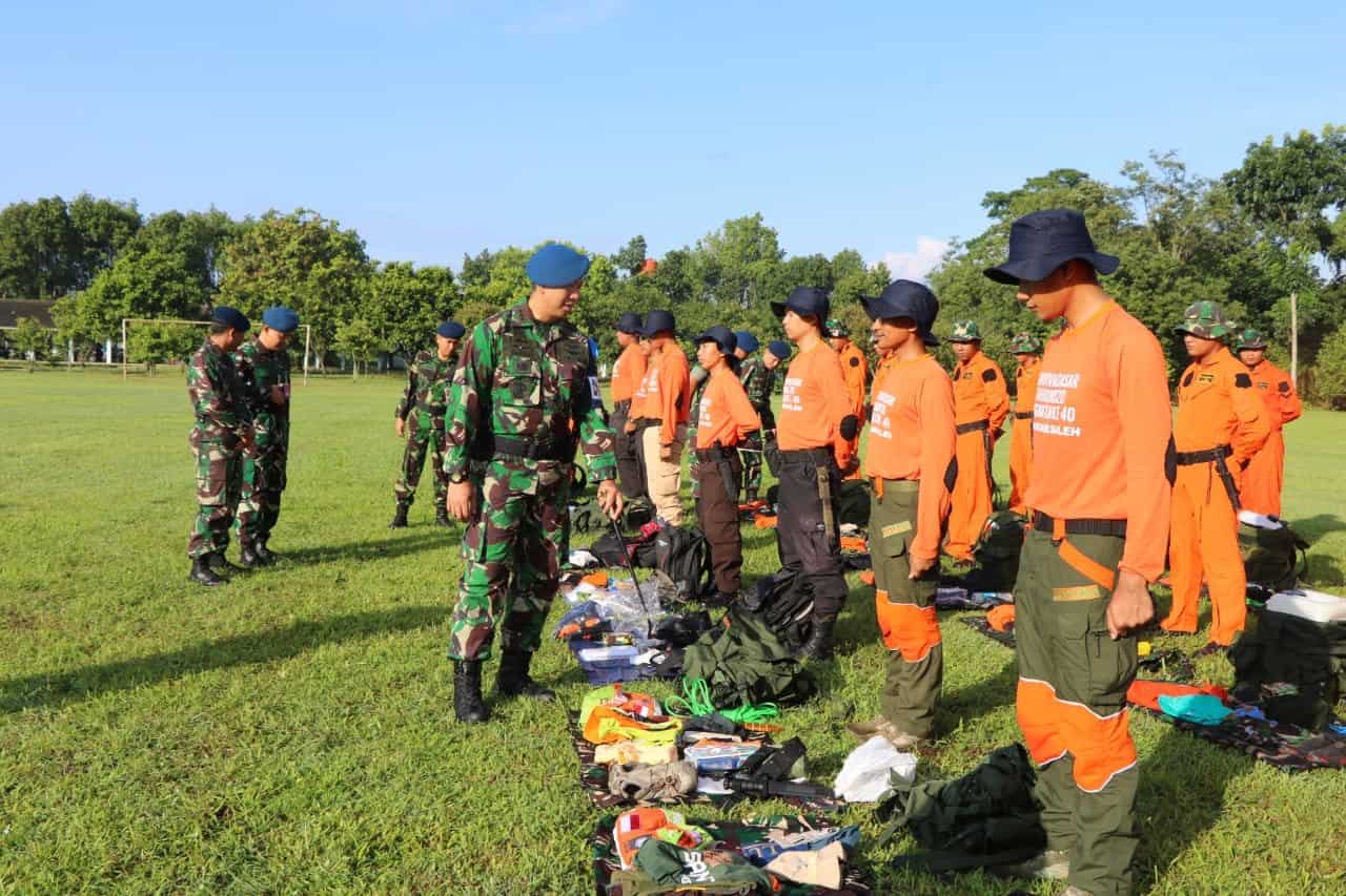 "Lanud Abdulrachman Saleh Gelar Latihan Survival Dasar ""Bima Sakti ke-40"""