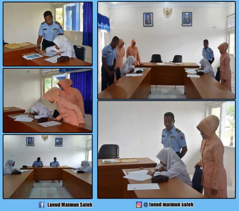 Lanud Maimun Saleh seleksi 2 calon peserta didik SMA Pradita Dirgantara (PPDB)