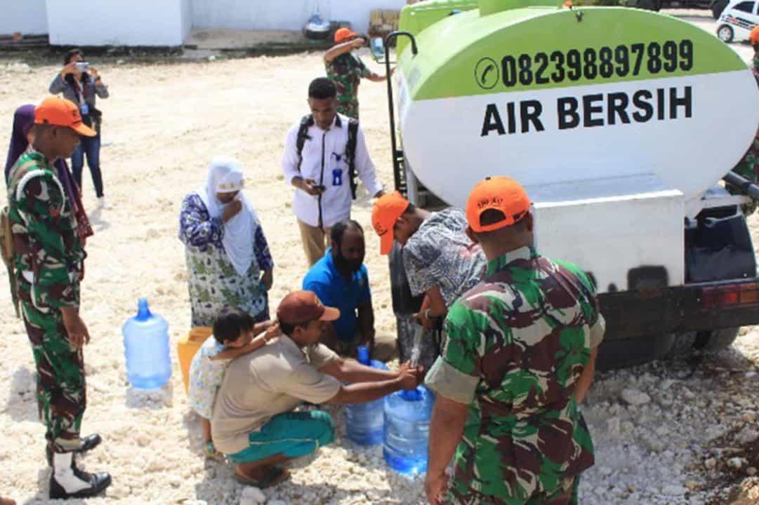 Bakti Sosial Penyaluran Air Bersih