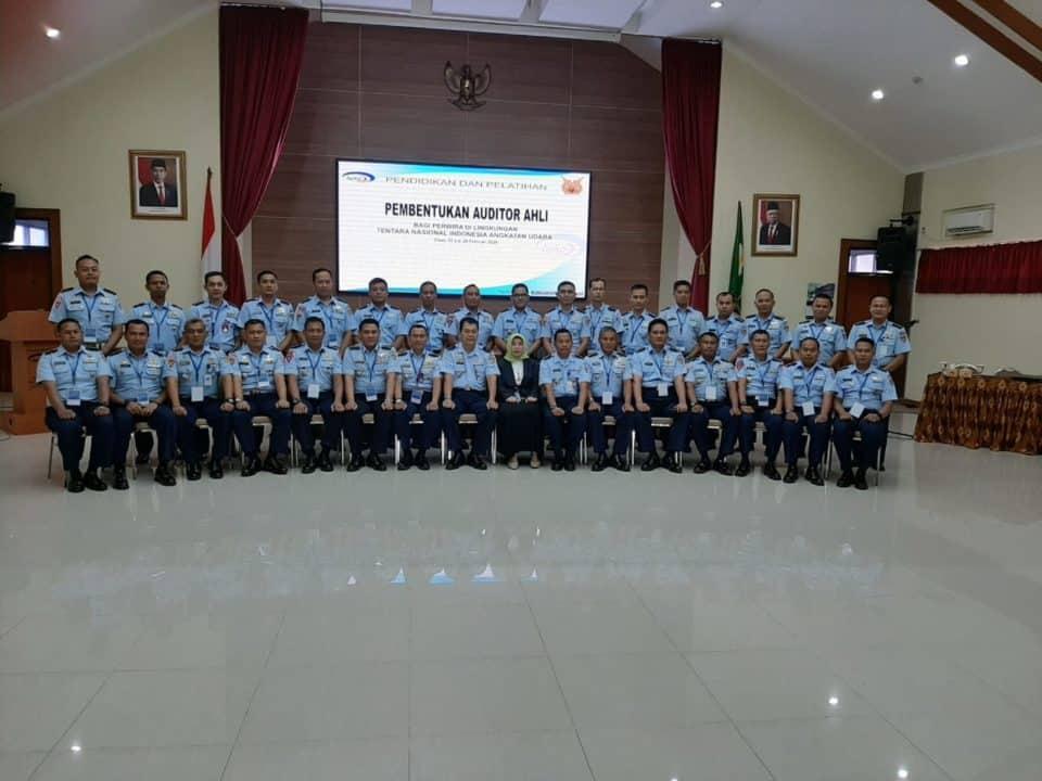 Jawab Tantangan Tugas Pengawasan, 30 Pamen TNI AU Ikuti Diklat Auditor Ahli