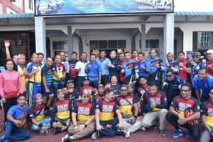 Danlanud RHF ikuti Gowes Bersama dalam Rangka HUT Pomal ke-74