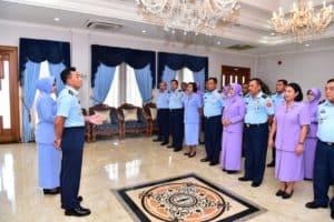 11 Pati TNI AU Mendapat Kenaikan Pangkat