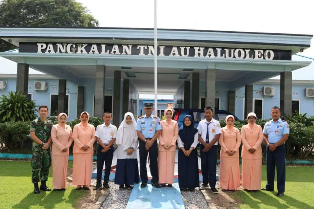 4 Siswa perwakilan Sultra Seleksi PPDB SMA Pradita Dirgantara Di Lanud Haluoleo