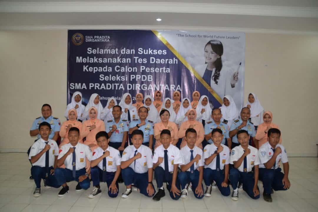 19 Casis SMA Pradita Dirgantara Mengikuti seleksi PPDB di Panda Lanud Suryadarma