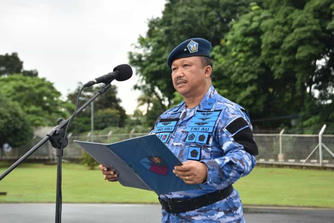 Upacara Bendera 17-an Gabungan di Lanud Halim Perdanakusuma
