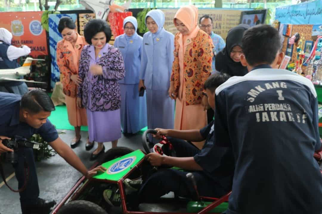Yasarini Pengurus Cabang Lanud Halim Perdanakusuma Ikuti Pameran Pendidikan di Kodam Jaya