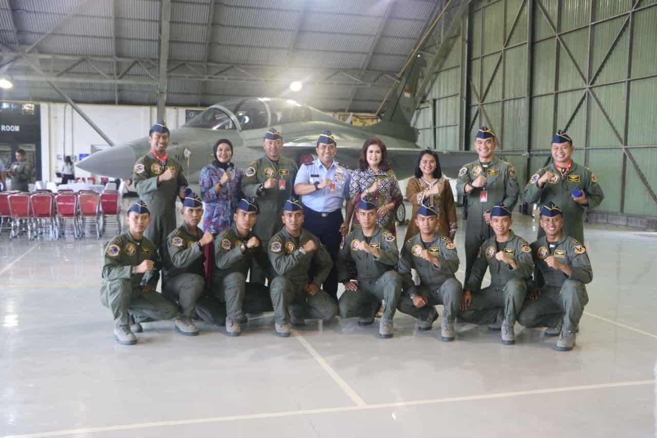 Komitmen Lanud Iswahjudi Dalam Regenerasi Penerbang Tempur dan Kaderisasi Pimpinan TNI AU Masa Depan