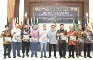 Komandan Lanud Sutan Sjahrir Gowes Bersama Wakasad