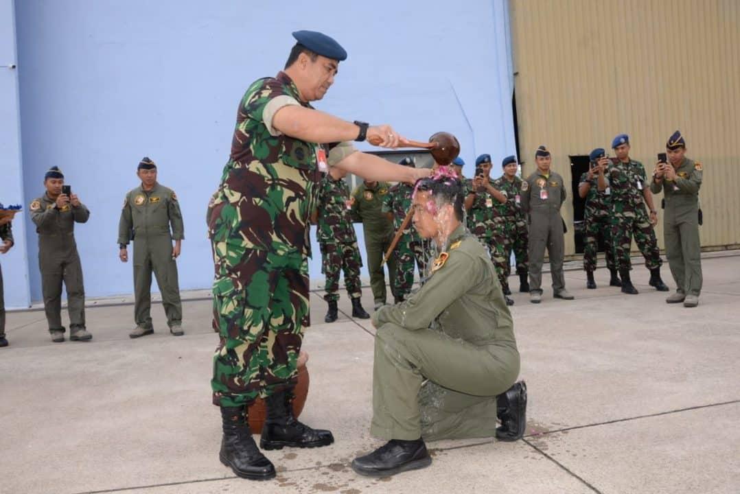 Lettu Pnb M. Fachry Nosar Sukses Menerbangkan Pesawat Tempur F-16 Secara Mandiri.