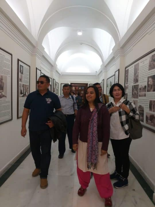 Kadispenau Kunjungi India Air Force Museum