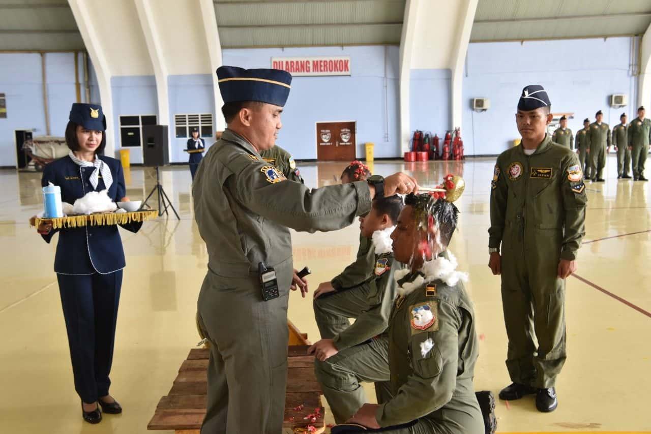 Danskadron Udara 17 Lanud Halim P. Sematkan Kencana Number