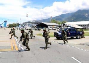 """Satgas Pamrahwan Papua Yonko 462 Paskhas Gelar """"LKO"""""""