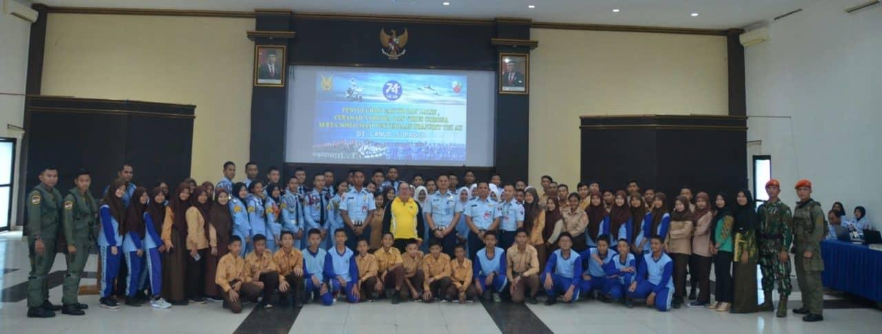 Jelang HUT TNI AU, Lanud Supadio Gelar Sosialisasi