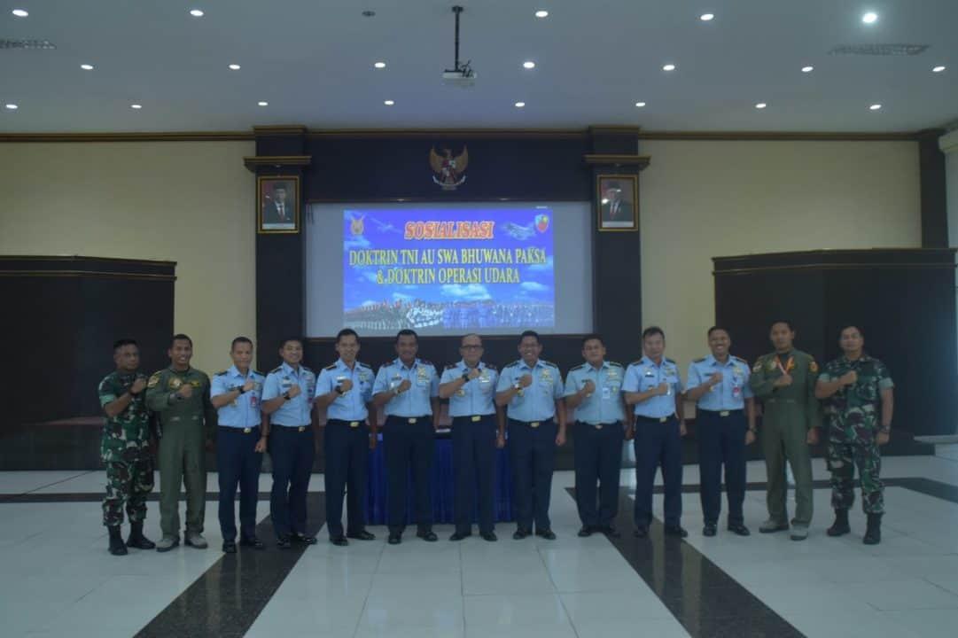 Sosialisasi Doktrin TNI AU Dan Konsep Doktrin Operasi Udara di Lanud Supadio