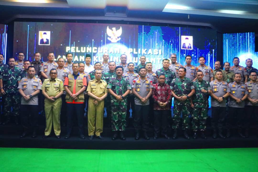 Danlanud Rsn Hadiri peresmian Aplikasi Lancang Kuning Nusantara