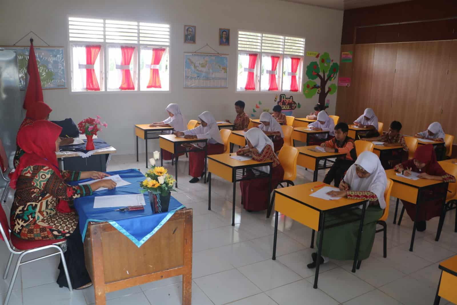 Kompetisi Sains Nasional Tingkat SD se Kecamatan Marpoyan Damai Ramaikan SD Angkasa