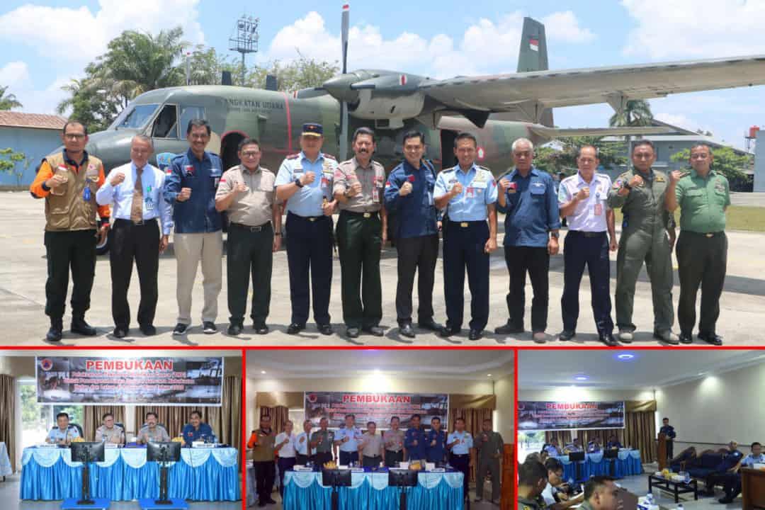 Pembukaan Pelaksanaan TMC Siaga Darurat Karhutla di Riau