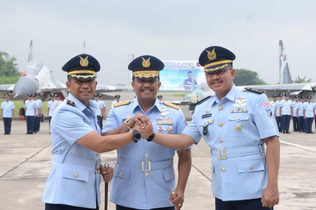 Letkol Pnb Wanda Surijohansyah Jabat Danskadron Udara 14