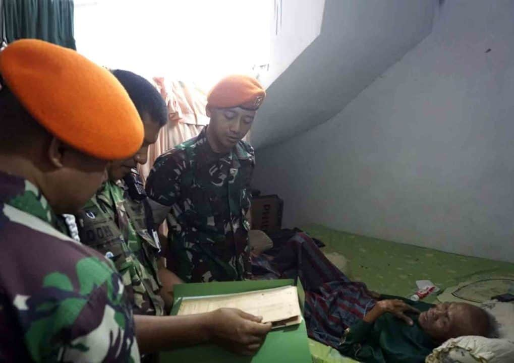 Yonko 462 Paskhas Llaksanakan Anjangsana ke Rumah Purnawirawan kopasgat