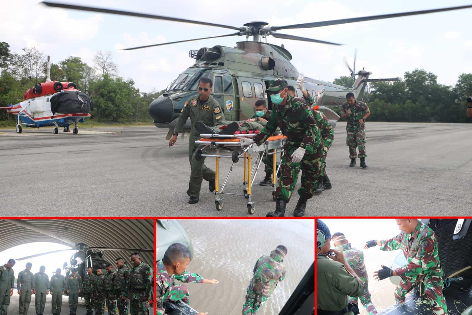 Yonko 462 Paskhas Pulanggeni Laksanakan Latihan Simulasi Sarpur