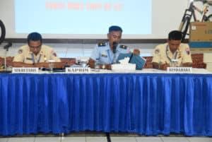 Primkopau Lanud Wiriadinata Laksanakan Rapat Akhir Tahun 2019