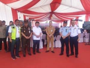 Danlanud Sri Hadiri Ground Breaking Pembangunan Bandara Sam Ratulangi