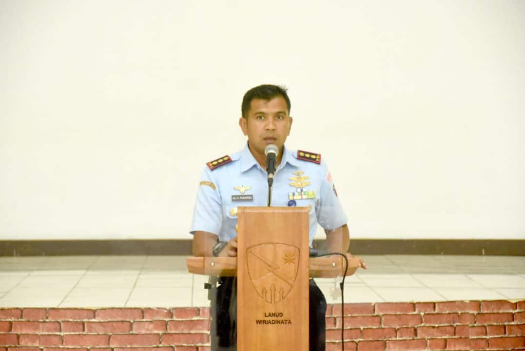 Antisipasi Penyebaran Virus Corona Covid-19, Lanud Wiriadinata Laksanakan Jam Komandan