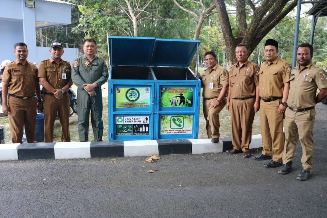Bersempena HPSN, DLHK Pemko Pekanbaru Gandeng Lanud Rsn Peduli Sampah
