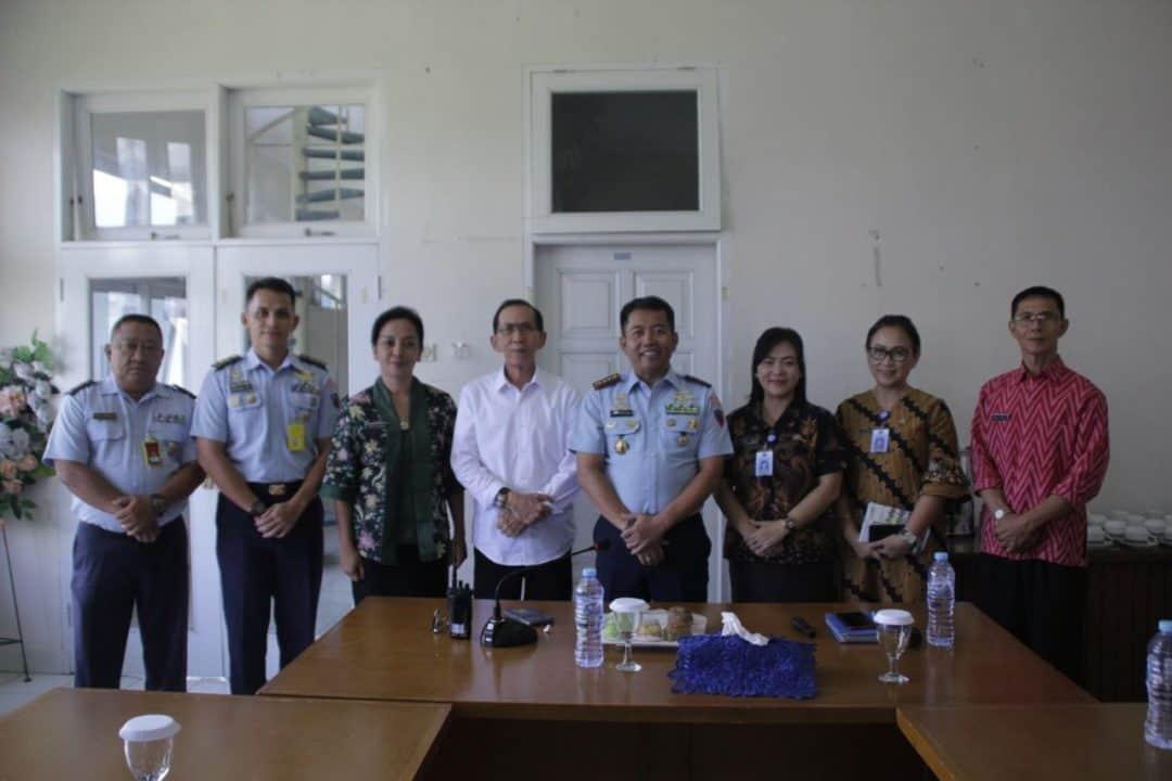 Rapat Koordinasi IOPC dan KASAU CUP 2020  Di Lanud Sam Ratulangi