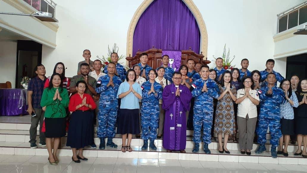 Lanud Sam Ratulangi Gelar Doa Bersama Agar Tehindar Dari Virus Corona