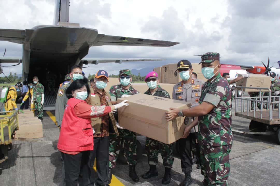 3000 Alkes APD Tiba di Lanud Sam Ratulangi