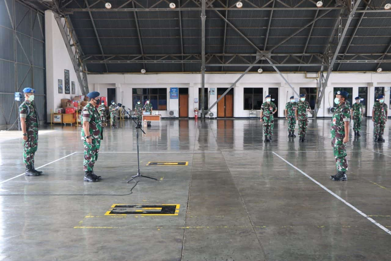 Danlanud Iswahjudi Buka Dikkualsus Skill Level 1 Peaawat Tempur Sukhoi SU-27/30