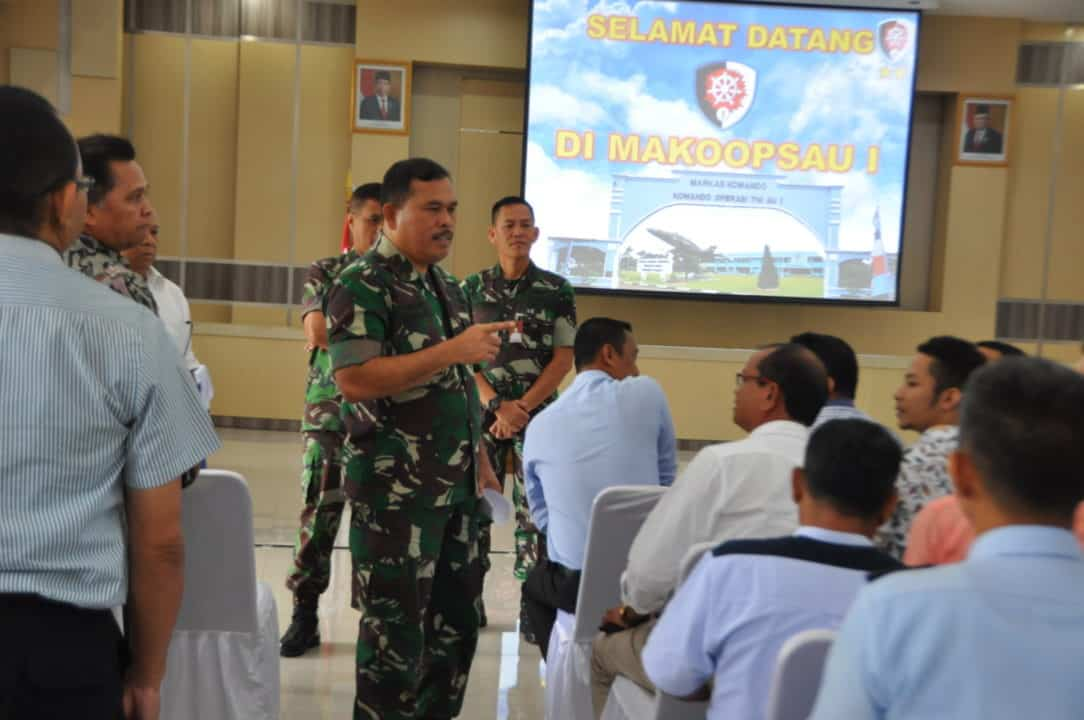 Pembekalan Pangkoopsau I, dalam Pengadaan Pekerjaaan Konstruksi TA 2020