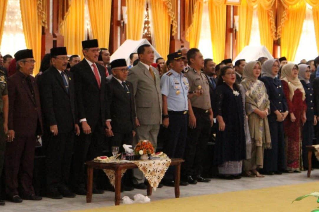 Komandan Lanud Sjamsudin Noor Hadiri Pengukuhan Kepala Perwakilan Bank Indonesia Provinsi Kalimantan Selatan